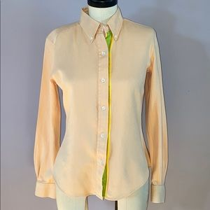 J McLaughlin cotton button up shirt